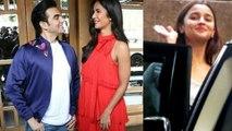 Katrina Kaif, Arbaaz Khan Shoot For a Show, Alia Bhatt At Sanjay Leela Bhansali Office