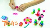 How to Make Princess Poppy Crown With Play Doh  Trolls fll mvie  Craft Videos  Crafty Kids