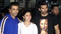 Kalank Special Screening | Alia Bhatt, Karan Johar, Aditya Roy Kapur