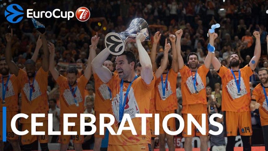 7DAYS EuroCup: Valencia's Celebrations!