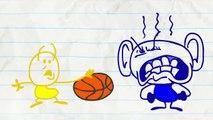 Crayon Amusant Obtient Des Oreilles Géantes! dans TOUTES les OREILLES - Animation Dessins animés Pour les Enfants