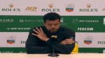 """Monte-Carlo - Tsonga : """"Dans l'incapacité de jouer à mon meilleur niveau"""""""