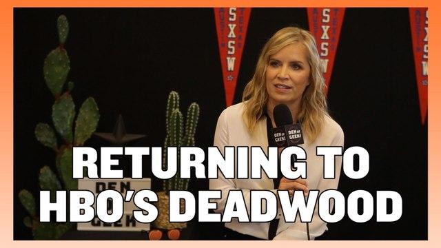 Kim Dickens on the Return of Deadwood