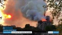Notre-Dame de Paris : les 16 statues de cuivre de la flèche sauvées de l'incendie