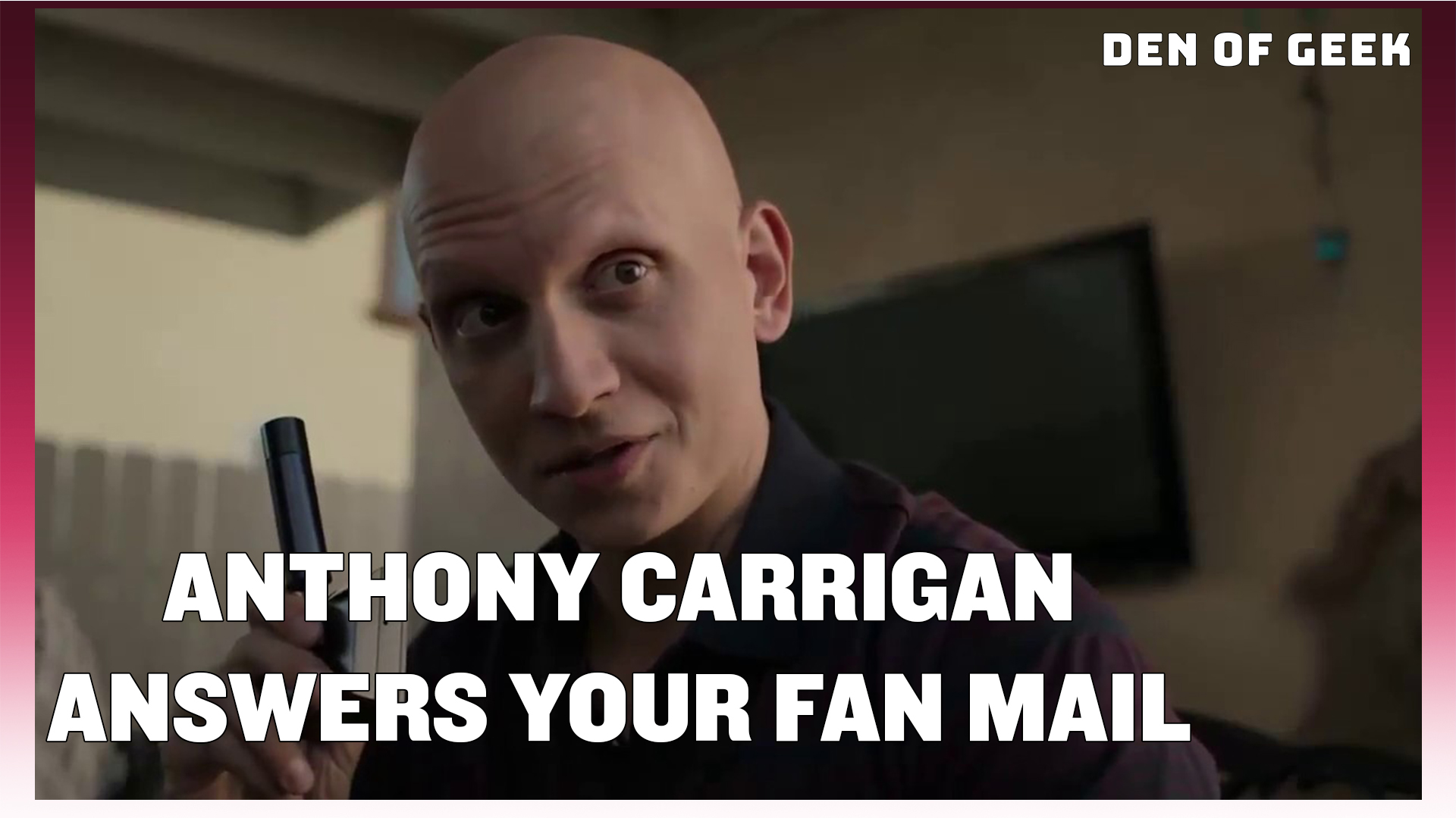 """Barry"" Star Anthony Carrigan Answers Your Fan Mail"