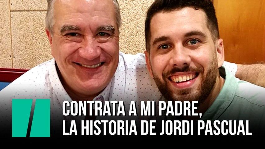 """""""Mi padre estaba abatido"""": el relato Jordi, el joven que ha conseguido emocionar con la historia de su padre desempleado"""