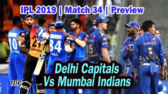 IPL 2019 | Match 34 | Preview | Delhi Capitals Vs Mumbai Indians