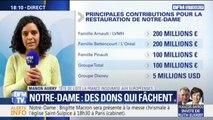 """Manon Aubry (LFI) : """"Tout argent est le bienvenu pour reconstruire Notre-Dame (...) maintenant il ne faut pas être dupe"""""""
