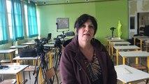 Marie Halopeau réalise un documentaire à l'Institut Saint-Lô à Agneaux