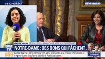 """Manon Aubry: """"Tout argent est bienvenu pour reconstruire Notre-Dame, maintenant, il ne faut pas être dupe"""""""