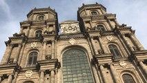 En solidarité avec Notre Dame, les cloches de la cathédrale St-Pierre de Rennes sonnent à 18h50
