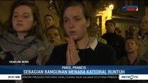 Gereja Notre Dame Terbakar, Warga Prancis Doa Bersama