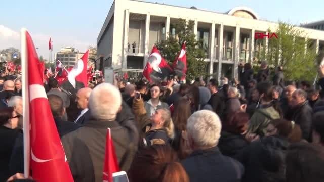İstanbul- İmamoğlu Mazbatayı Aldıktan Sonra Görevi Teslim Aldı