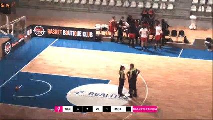 LFB 18/19 - PD 1 : Nantes Rezé - Villeneuve d'Ascq