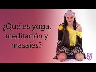 ¿Qué es yoga, meditación y masaje de corazón?   Yoga de corazón