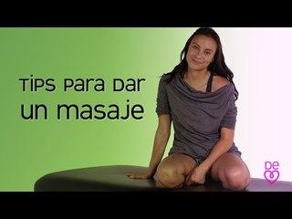 Masaje: Historia, beneficios y tipos de masajes    Maryan Rojas