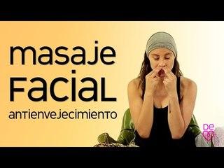 Masaje facial antivejecimiento   Maryan Rojas