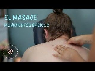 Clases de masaje | Cómo mover tus manos en el masaje