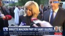 """Incendie de Notre-Dame: Brigitte Macron raconte être passée de """"la sidération à la gratitude"""""""