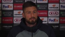 Frustrated when I don't play - Giroud