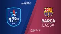 Anadolu Efes Istanbul - FC Barcelona Lassa Highlights | Turkish Airlines EuroLeague PO Game 1