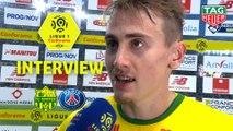 Interview de fin de match : FC Nantes - Paris Saint-Germain (3-2)  - Résumé - (FCN-PARIS) / 2018-19