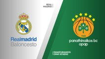 Real Madrid - Panathinaikos OPAP Athens Highlights | Turkish Airlines EuroLeague PO Game 1