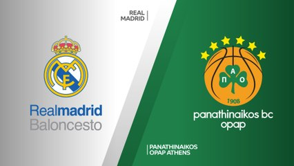 EuroLeague 2018-19 Highlights Playoffs Game 1 video: Madrid 75-72 Panathinaikos
