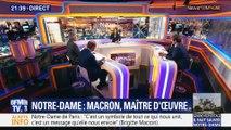 Notre-Dame: Emmanuel Macron, maître d'oeuvre