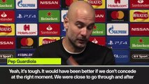 (Subtitled) 'It was a nice game for everyone' Guardiola