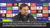 (Subtitled) 'I'm thinking about Cardiff on Sunday' Klopp after Liverpool beat Porto 4-1