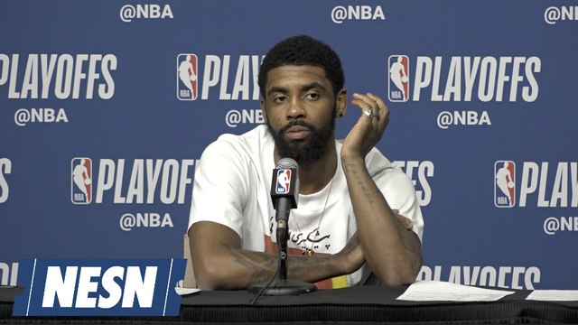 Kyrie Irving On Keeping Same Energy Level On The Road vs. Pacers