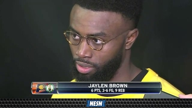 Jaylen Brown, Kyrie Irving Proud Of Team's Resiliency In Game 2 Win Over Pacers