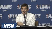 Brad Stevens On Preparing For Game 3 With A 2-0 Series Lead