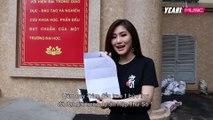 Hương Tràm bất ngờ trao tận tay vé xem liveshow cho giải nhất cuộc thi viết thu HTS1