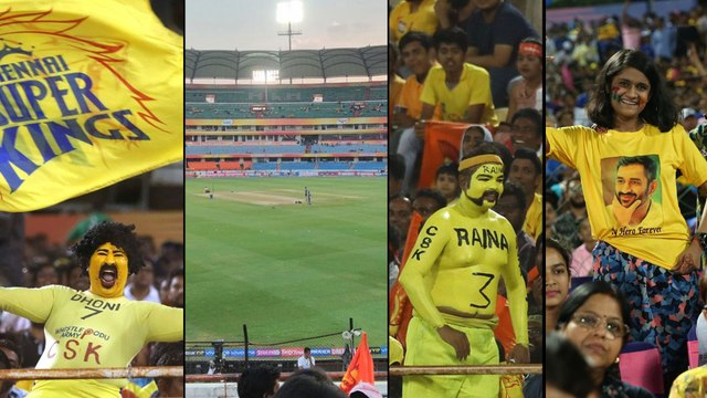 IPL 2019: CSK Flags, MS Dhoni Posters Not Allowed At Uppal Stadium | Oneindia Telugu