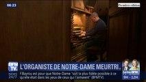 """""""15 minutes après le début de la messe, on a entendu une alarme.""""  Il jouait à Notre-Dame lundi soir, l'organiste de la cathédrale témoigne"""