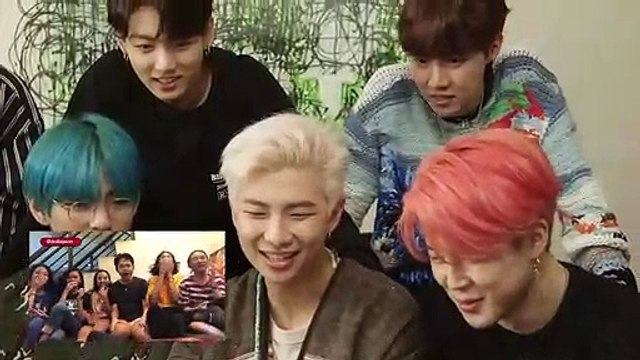 "BTS React To Fans Watching ""Boy With Luv"" Music Video For The First Time!"