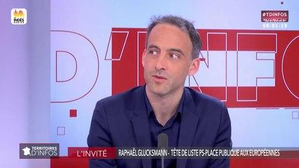 Raphaël Glucksmann - Public Sénat jeudi 18 avril 2019