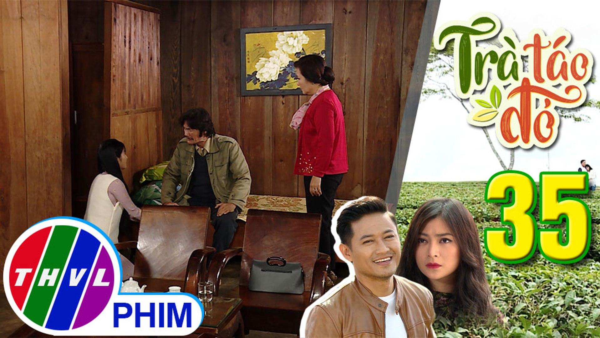 THVL | Trà táo đỏ - Tập 35[3]: Ông Trung bắt Trúc Trà phải chọn giữa mình và bà Hiền