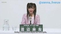 Watanabe Mayu aka Mayuyu Promote for  Senbatsu Sousenkyo
