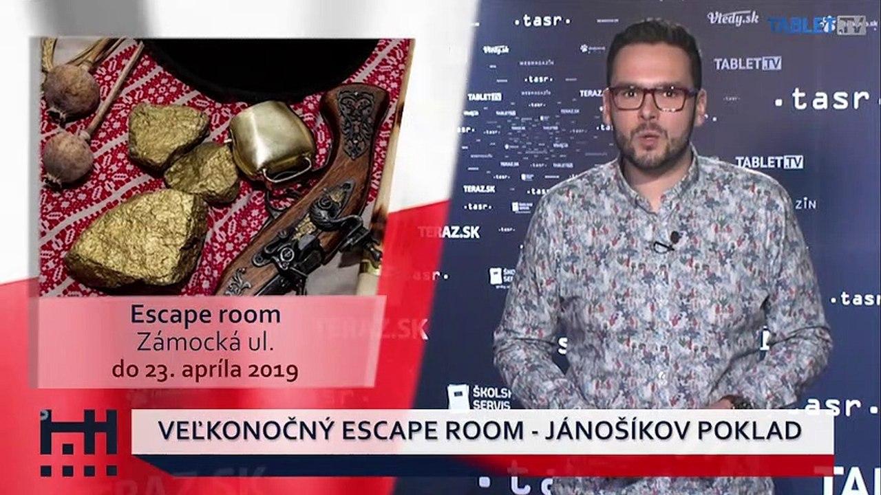 POĎ VON: Veľkonočný Escape Room a Argentínske tango