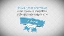 « Mettre en place un interprétariat professionnel en psychiatrie » EPSM Etienne-Gourmelen