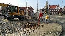 Ploegsteert : les travaux de la place de la Rabecque, un chantier d'envergure