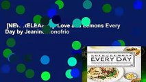 [NEW RELEASES]  Love and Lemons Every Day by Jeanine Donofrio