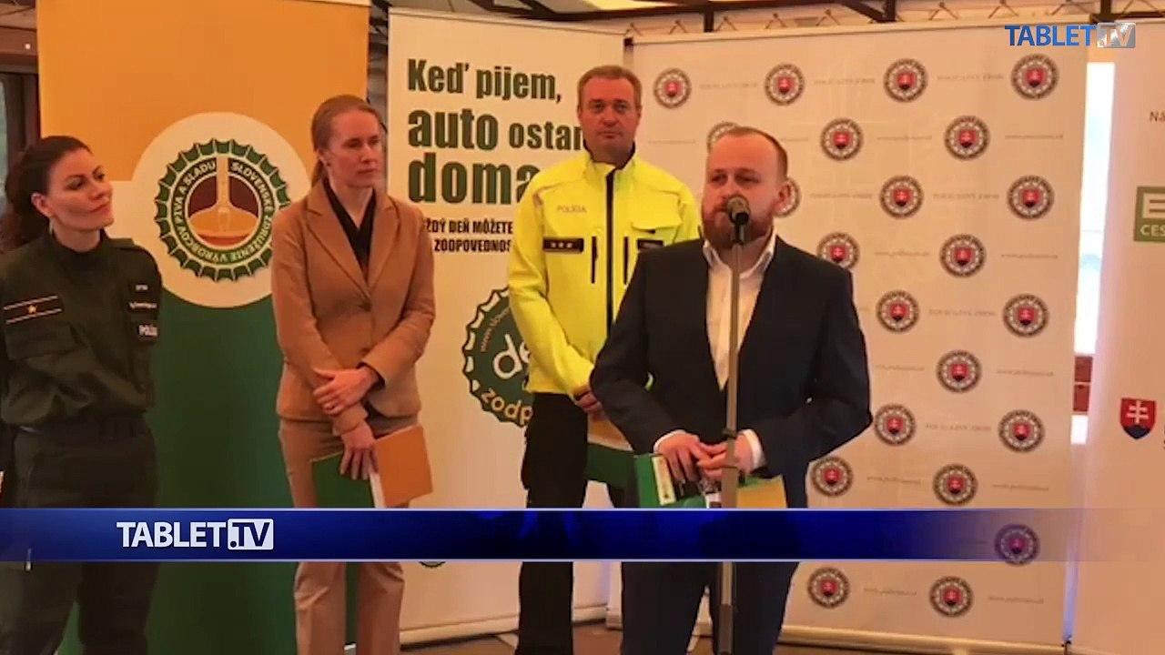 ZÁZNAM: Brífing Prezídia Policajného zboru, Slovenského združenia výrobcov piva a sladu