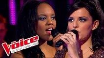 Gloria Gaynor – I Will Survive | Ludivine Aubourg VS Sandra Brandon | The Voice France 2013 | Battle