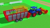 #Farmer field of mowing grass - Food for cows | Farmer tond l'herbe | le Tracteur de la Nourriture pour les Vaches