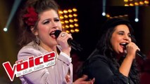 Edith Piaf – La Foule   Caroline Rose VS Joséphina   The Voice France 2013   Battle