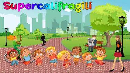 SA - Supercalifragili Mary Poppins #Canzonibambini e Musica per bambini
